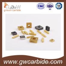 Insertos CNC de metal duro indexáveis
