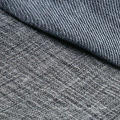 Black Cotton Viscose Polyester Spandex Denim Fabric for Jeans