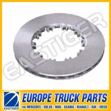 Pièces de camion pour disque de frein Daf 1387439