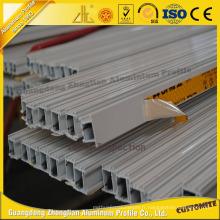 6063t5 anodisé enduisant le profil en alliage d'aluminium de revêtement