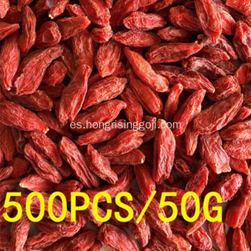 500grains / 50g gojiberries deliciosos de Ningxia