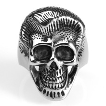 Rock trend personality index finger skull rings