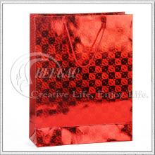 Saco de compras de papel de laminação (KG-PB053)