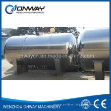 Precio de fábrica Aceite Agua Hidrógeno Tanque de almacenamiento Vino Contenedor de acero inoxidable Tanque de etanol