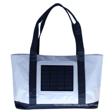 ECEEN Solar Charger Back Pack Bag with 2.4W Solar Panel Beach Bag