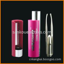 LED Eyebrow Tweezer with Mirror/Metal Tweezer as Beauty Tool Gift