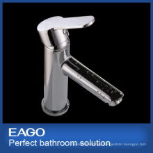 Single Hole High Chrome Brass washbasin faucet (PL169B-66E)