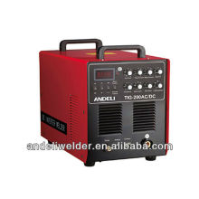 Vente chaude IGBE Module Inverter DC portable en aluminium machine à souder TIG-200 AC / DC