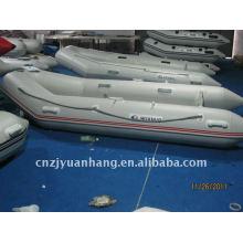 CE Korea Aluminum floor inflatable dinghy H-SM360