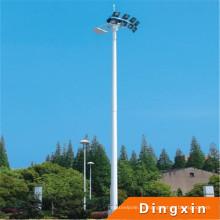18m hohe Mastbeleuchtung mit 400W Natriumlampe