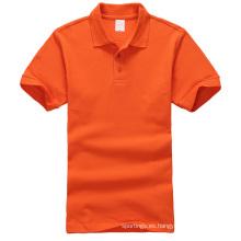 último diseño polo camisa de los hombres camiseta en blanco