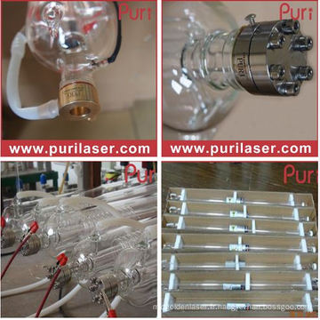150W Puri CO2 Laser Tube Fabricant