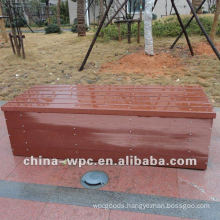 Recycle outdoor bench