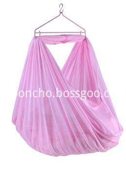 Pink baby hammock