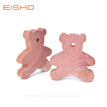 Bloques de madera de cedro natural Little Bear ECZD-3021-20