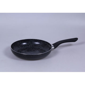 Full 3.0mmx3003 Aluminum Alloy Fry Pan com Non-Stick 2-Layer revestimento de mármore e base de indução