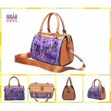 Fashion Printed Flower Shoulder Bags Hobo Sokelly Bags Barrel (F48)