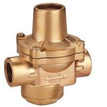 Valve de réduction de pression en bronze de haute qualité