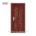 Cheap galvanized hollow steel door turkish style with frame