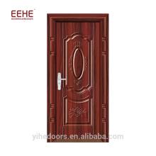 Style turc de porte en acier creuse galvanisée pas cher avec cadre