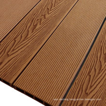 Deep Embossed Wood Grain Composite Floor Wholesale 146 X 25 mm Wooden Board Crack-Resistant Outdoor WPC Decking
