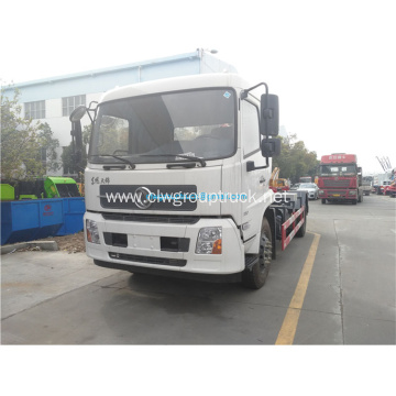 New design dongfeng 4x2 hook lifting hydraulic truck