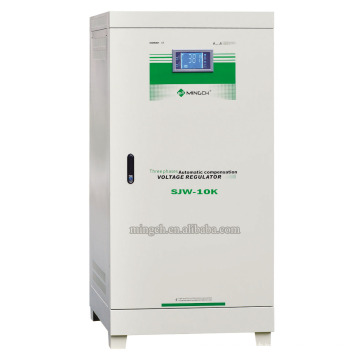 Customed Djw / Sjw Series Microcomputer Non Contact AC Régulateur / Stabilisateur Vcoltage