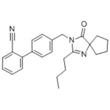 4'-[(2-Butyl-4-oxo-1,3-diazaspiro[4.4]non-1-en-3-yl)methyl]-(1,1'-biphenyl)-2-carbonitrile CAS 138401-24-8