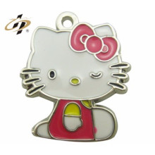 zhejiang wenzhou custom metal made funny real young girl chubby doll pendant
