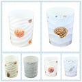 Sea Shells Design Round Poubelle en plastique (FF-5224)