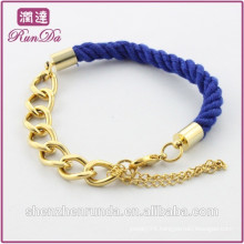 Alibaba hot sale indian blue rope bracelets