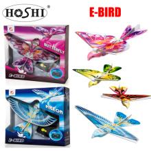 2019 Hoshi Factory 2.4G 2CH Radio Control Flying Bird E Bird Rc Bird E-BIRD Micro Flapping Wing Indoor Fly Birds RC Airplane