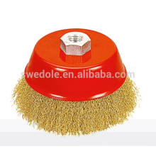 copper plating twisted steel wire brushes