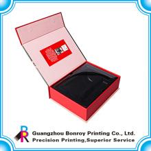 Embalaje exquisito de lujo colorido de la caja del perfume de China