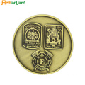 Special Fantasy Metal Coin With Silver Plating