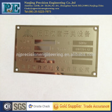 Kundenspezifische Laserschneiden Messing Tür Nummernschilder