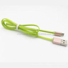 Оптовая высокое качество красочные желе дизайн USB кабель для для samaung/смартфон