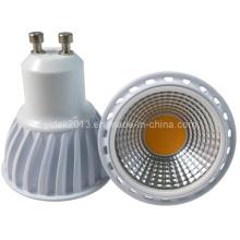 5W COB 510lm Dimmable GU10 LED Spotlight Bulb