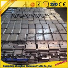 Profil en aluminium industriel avec traitement CNC