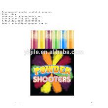 No fireworks papel de petardo boda confeti de aire cañón para la venta