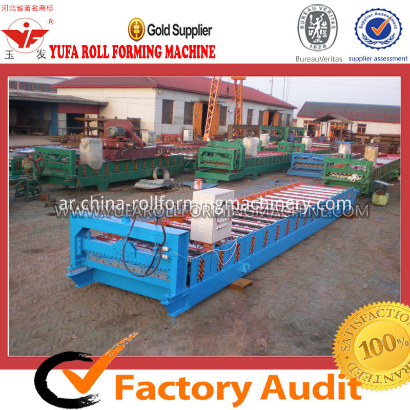 C18 NEW PROFILE ROOF PANEL ROLL FORMING MACHINE