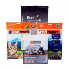 Sachets à fond plat pour l'emballage d'aliments pour animaux de compagnie
