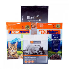 Flat Bottom Pouches For Pet Food Packaging