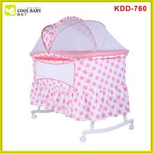 Berço do bebê de Europa da venda quente padrão com berço