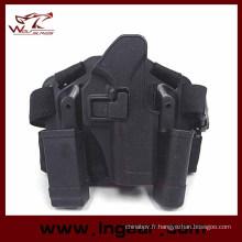 Quatre en un Tactical Drop Leg Holster pour Holster Glock 17