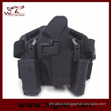 Airsoft Four in One Tactical Drop Leg Holster for Glock 17 Holster Combat Holster