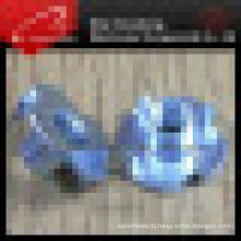 DIN7965 нержавеющей стали Тройник Гайка с 4 зубцами