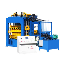 QT12-15 fully automatic  hydraulic automatic block making machine with siemens plc and motors