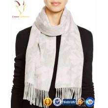 2017 invierno bufanda de lana de cachemira pura para las mujeres