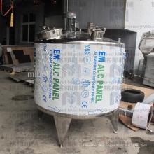 50-2000L Industrielle kleine Molkereimilchverarbeitungsmaschinen Edelstahlkühllagertank / Milchkühlausrüstung